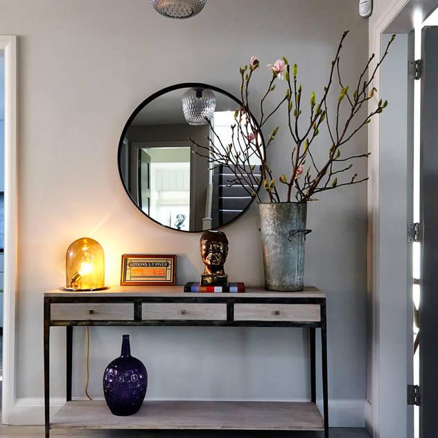 Deixe sua casa com toque moderno - espelho redondo
