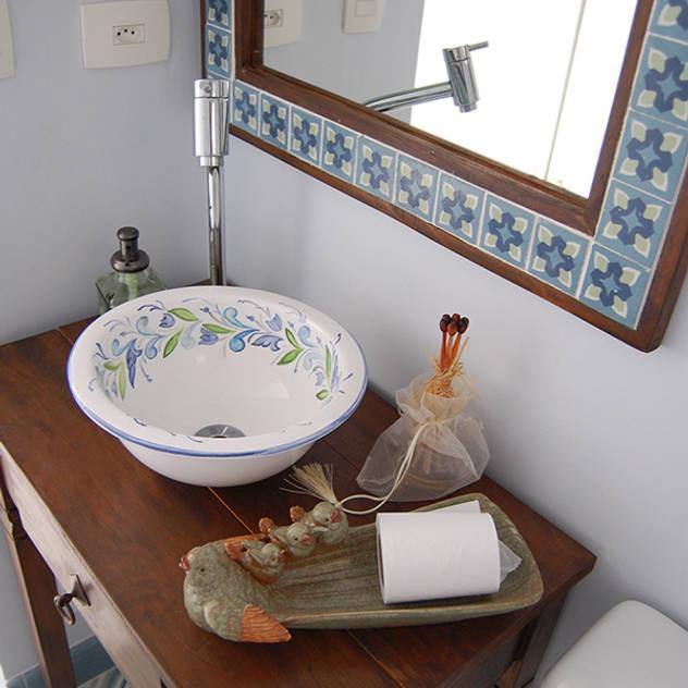 Banheiro Cobertura: Banheiros rústicos por AWDS Arquitetura e Design de Interiores