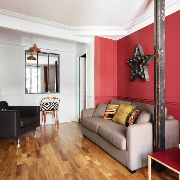 Family room by Espaces à Rêver