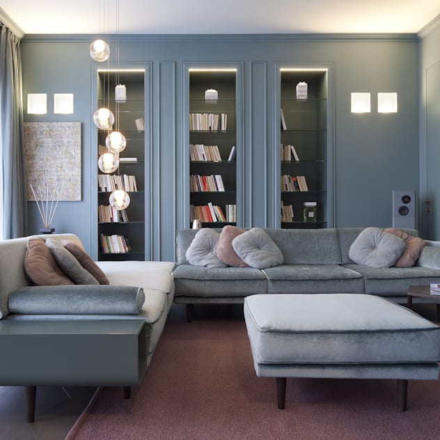 classic Living room by Studio Andrea Castrignano