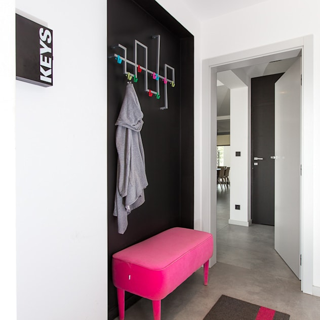 Casa com toque moderno - mudroom
