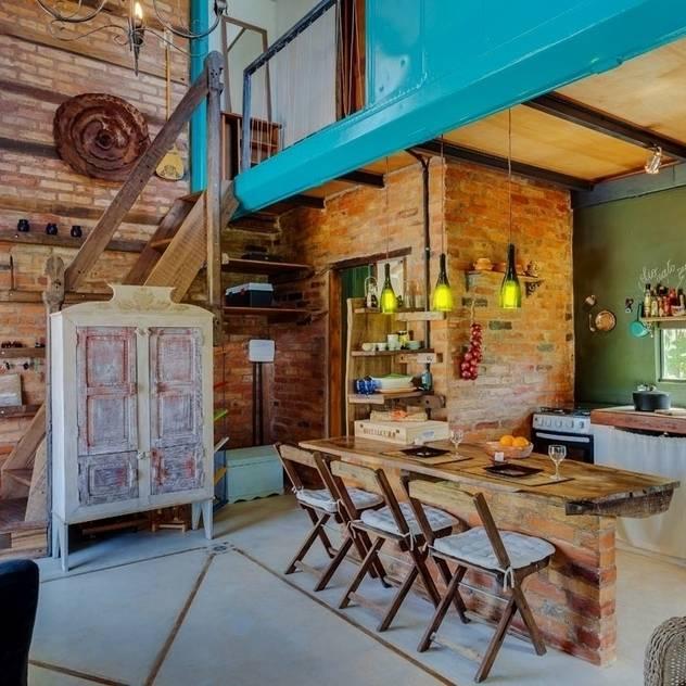 Phòng khách phong cách mộc mạc bởi Ferraro Habitat Mộc mạc