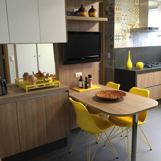 Adriana Fiali e Rose Corsini - FICODesign : modern tarz Mutfak