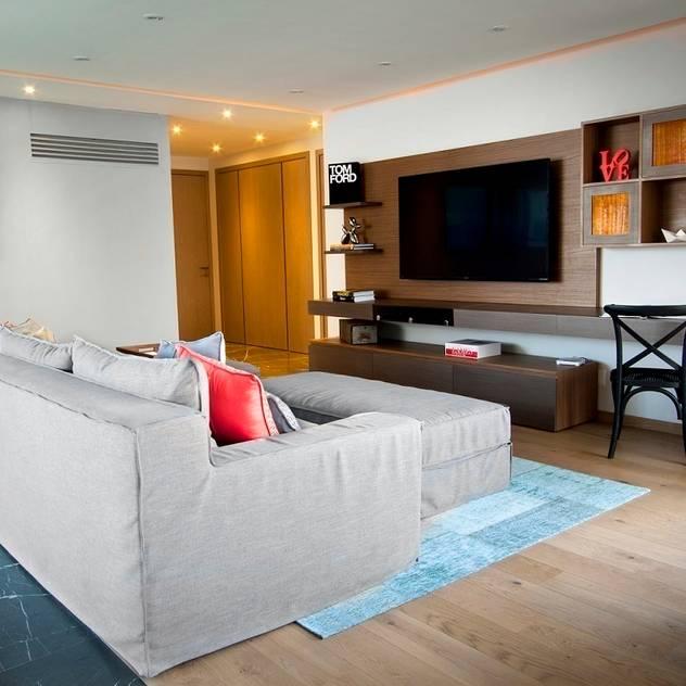 Concepto Taller de Arquitectura Phòng giải trí phong cách hiện đại