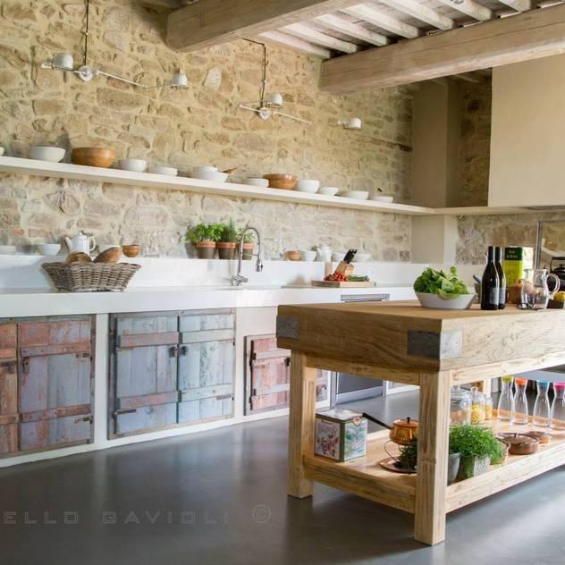 rustic Kitchen by Marcello Gavioli