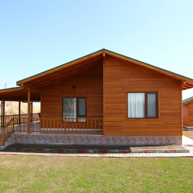 Rumah prefabrikasi by Kuloğlu Orman Ürünleri