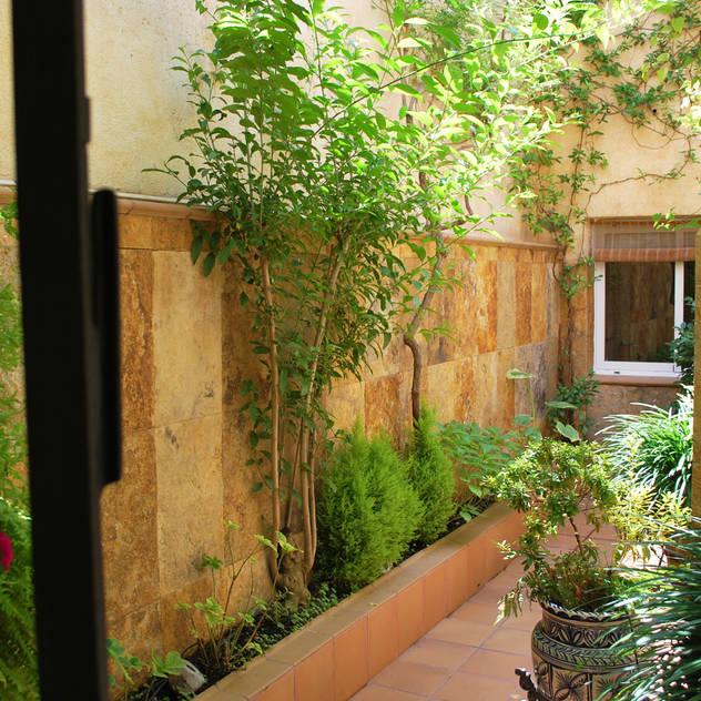 Hiên, sân thượng phong cách Địa Trung Hải bởi Vicente Galve Studio Địa Trung Hải