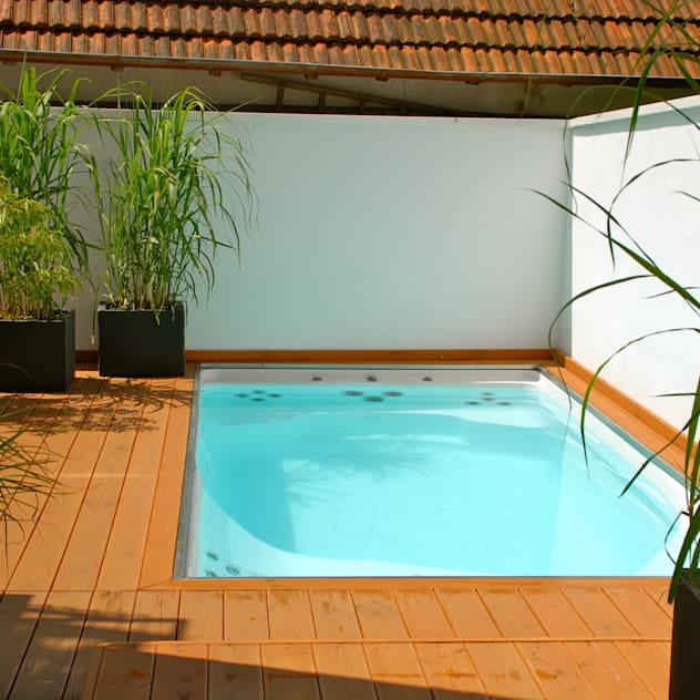 Piletas de estilo moderno por Future Pool GmbH