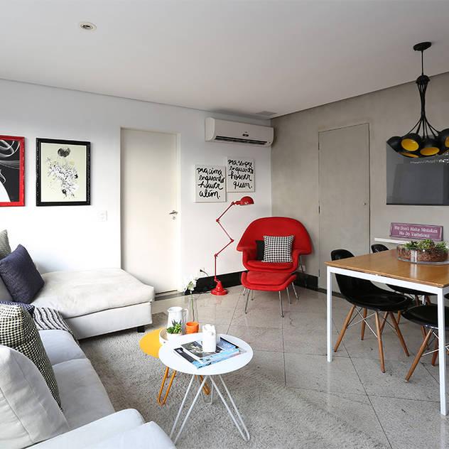 modern Living room by Duda Senna Arquitetura e Decoração