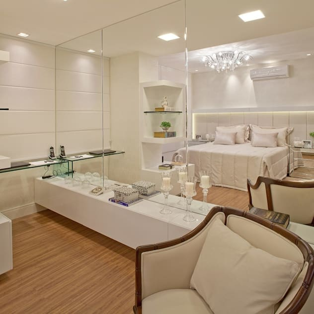 minimalistic Bedroom by Mariane e Marilda Baptista - Arquitetura & Interiores
