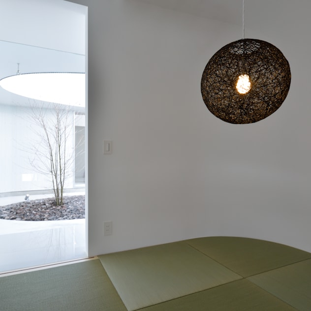 湧水町の住宅: アトリエ環 建築設計事務所が手掛けた和室です。