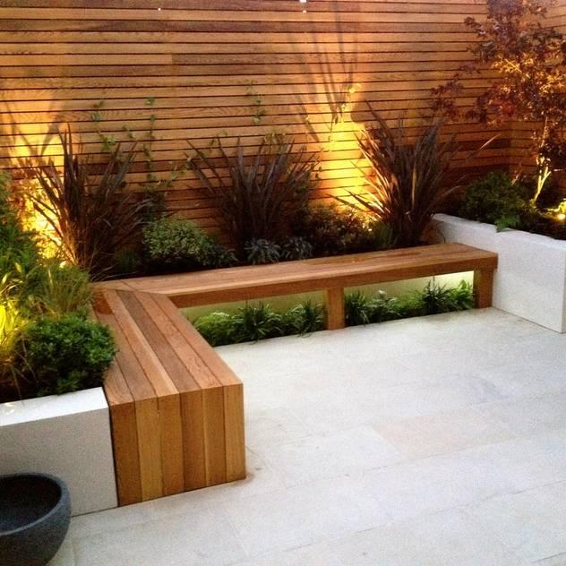 Contemporary Garden Design Balham โดย homify โมเดิร์น