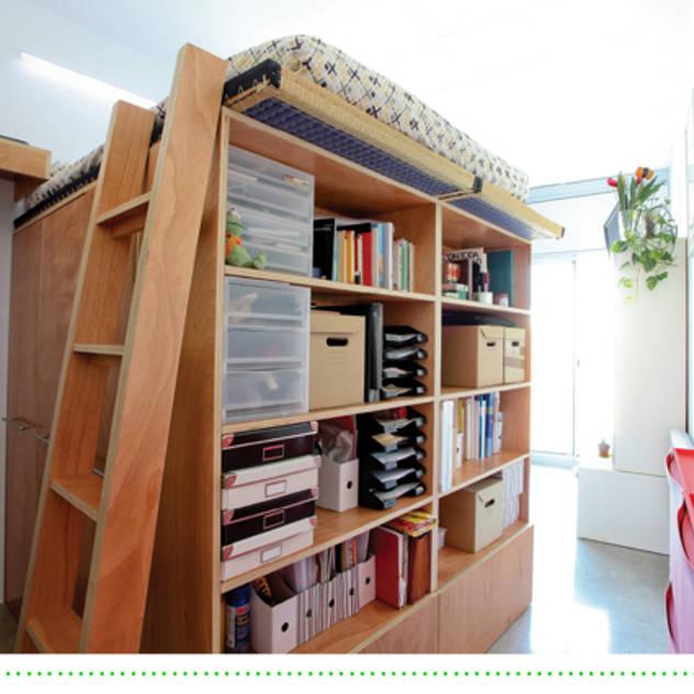 Brigitte Hübner: modern tarz Yatak Odası