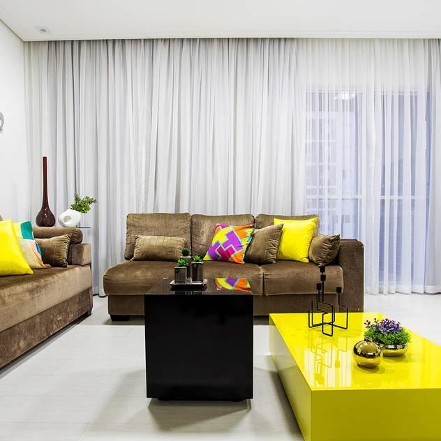 modern Living room by Amanda Pinheiro Design de interiores