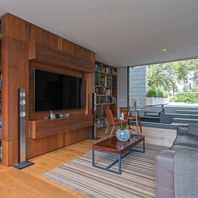 Faci Leboreiro Arquitectura Phòng khách