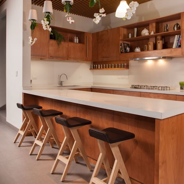 ห้องครัว by LGZ Taller de arquitectura