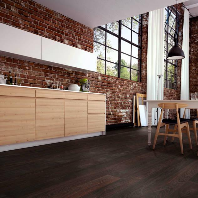 Paredes y pisos de estilo moderno por Hain Parkett