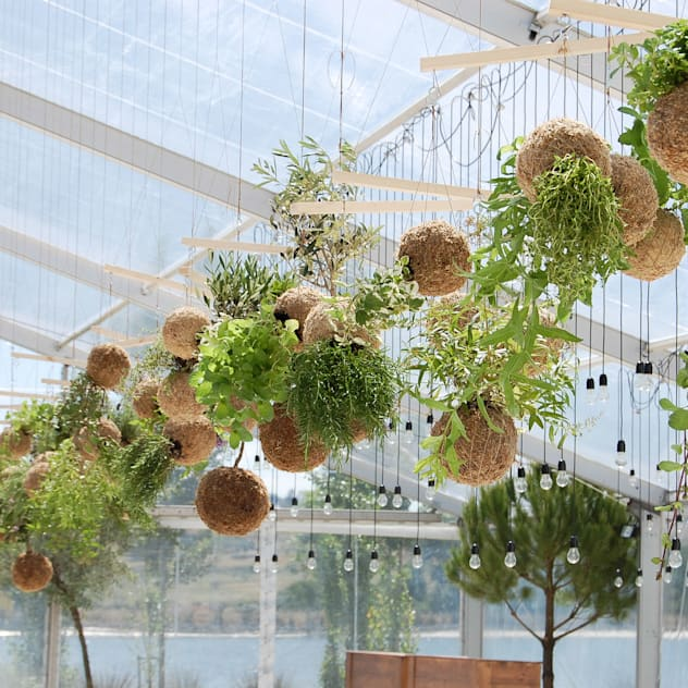 Vườn phong cách hiện đại bởi fiu jardins, lda. Hiện đại
