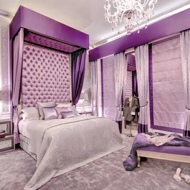 ห้องนอน by Rebecca James Studio