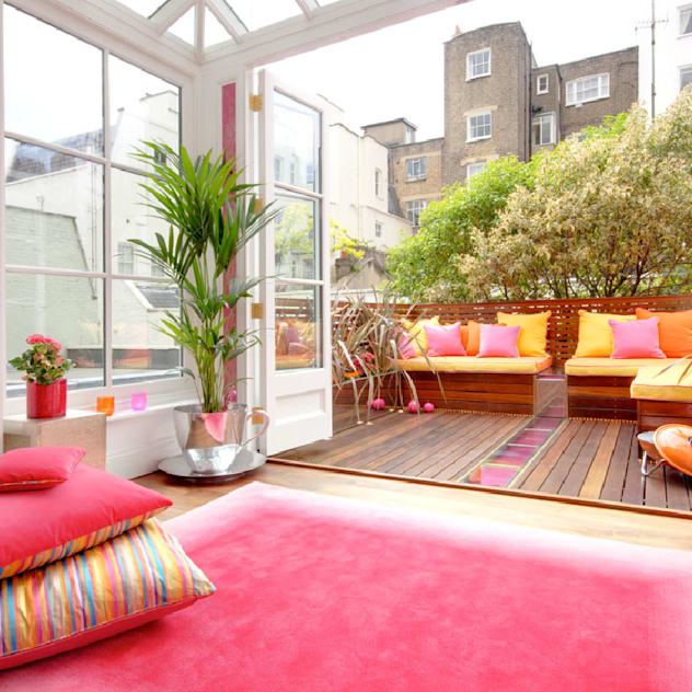 Montagu Square: Terrace by Interior Desires