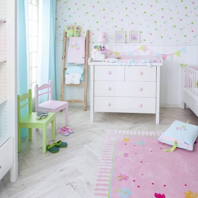 Schmetterlinge: ausgefallene Kinderzimmer von annette frank gmbh