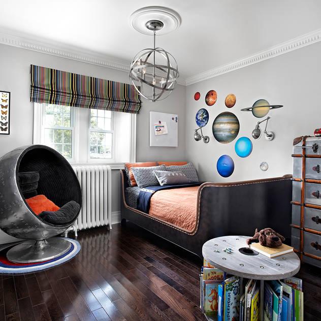 Phòng trẻ em phong cách công nghiệp bởi ANNA DUVAL Công nghiệp