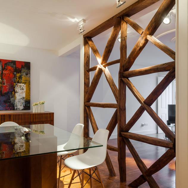 Salas de jantar minimalistas por Vanessa Santos Silva   Arquiteta
