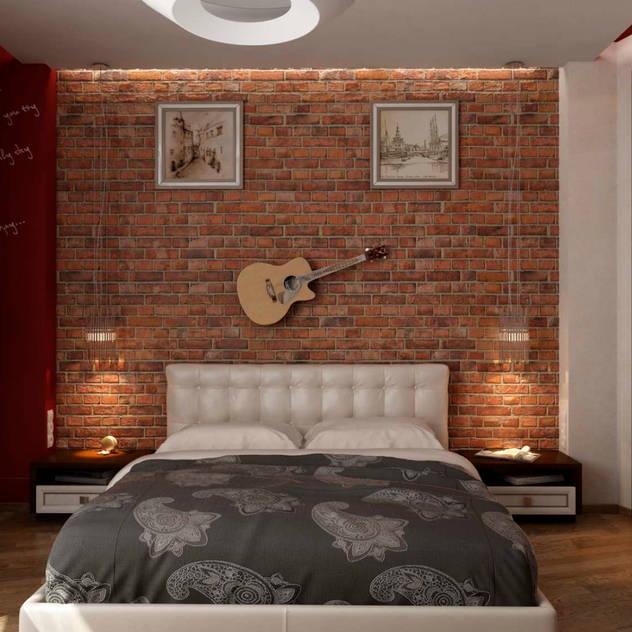 Phòng ngủ phong cách hiện đại bởi GP-ARCH Hiện đại