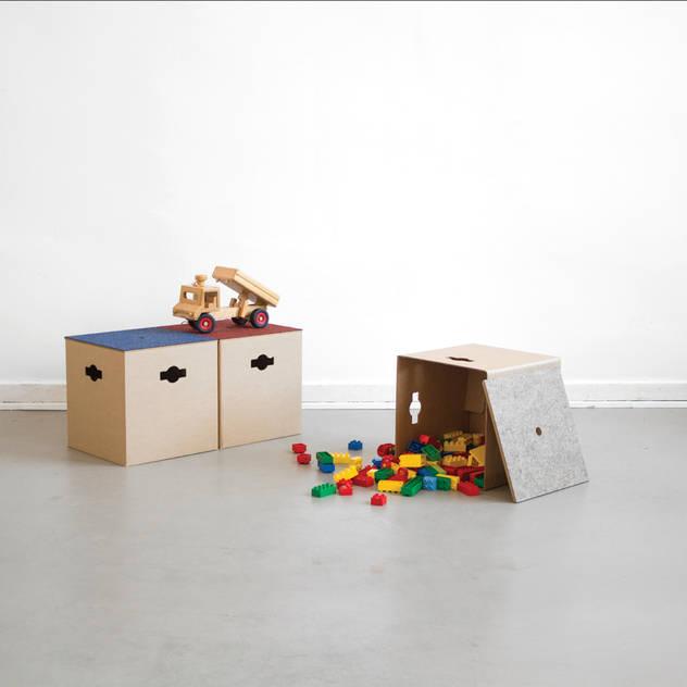 STOW starterkit: moderne Kinderzimmer von SPOD