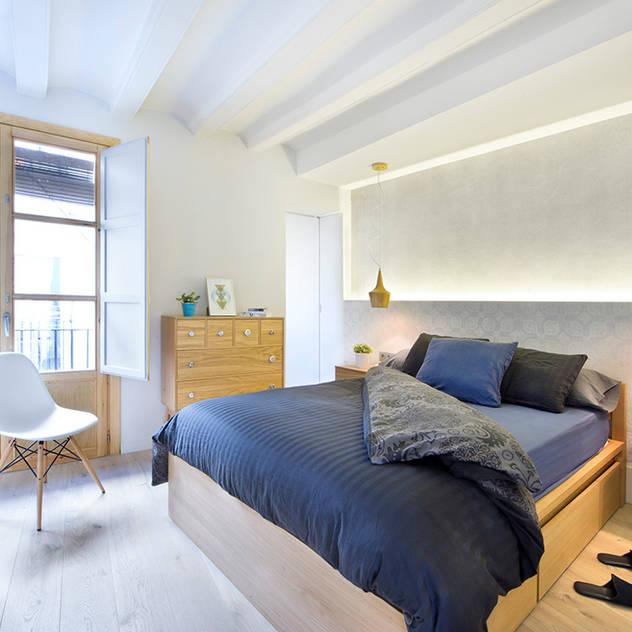 Phòng ngủ phong cách hiện đại bởi Egue y Seta Hiện đại