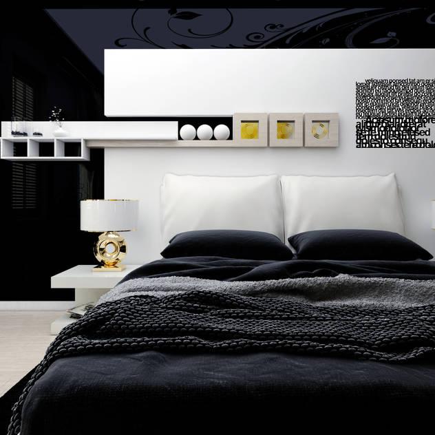 Abb Design Studio – E&C Ailesi - Yatak Odası: modern tarz Yatak Odası