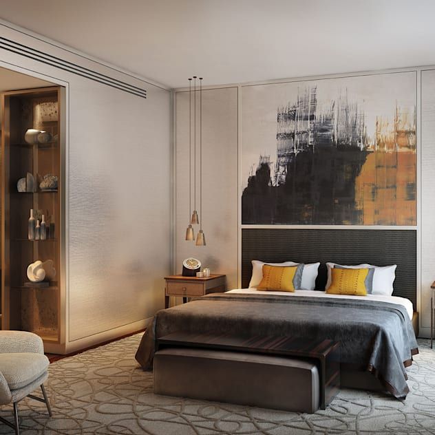 Folio Design | The Cricketers | Master Bedroom Modern style bedroom by Folio Design Modern