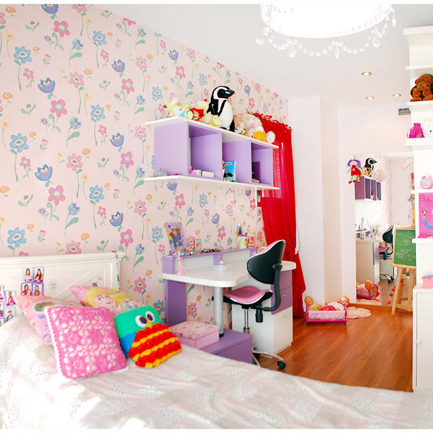 ห้องนอนเด็ก by Silvana Valerio