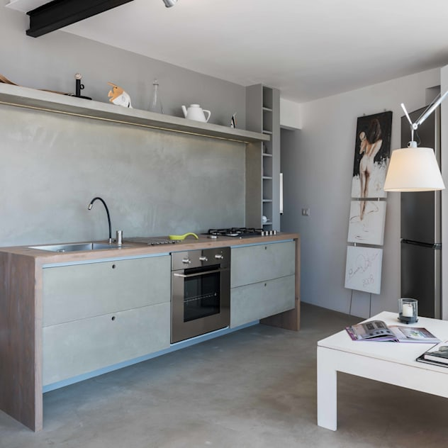 Dapur by architetto Lorella Casola