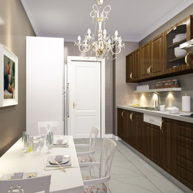 Cucina moderna di CCT INVESTMENTS Moderno