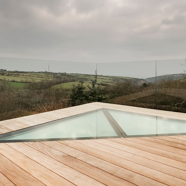 Down Barton, Devon: Terrace by Trewin Design Architects