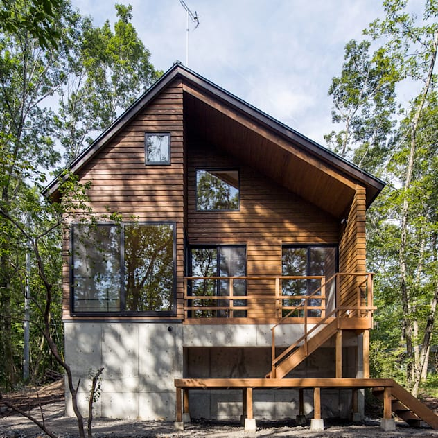 bởi Unico design一級建築士事務所 Hiện đại Gỗ Wood effect