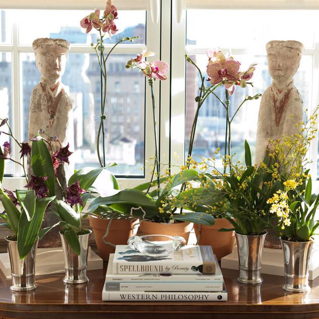 Jardins de inverno clássicos por Antonio Martins Interior Design Inc