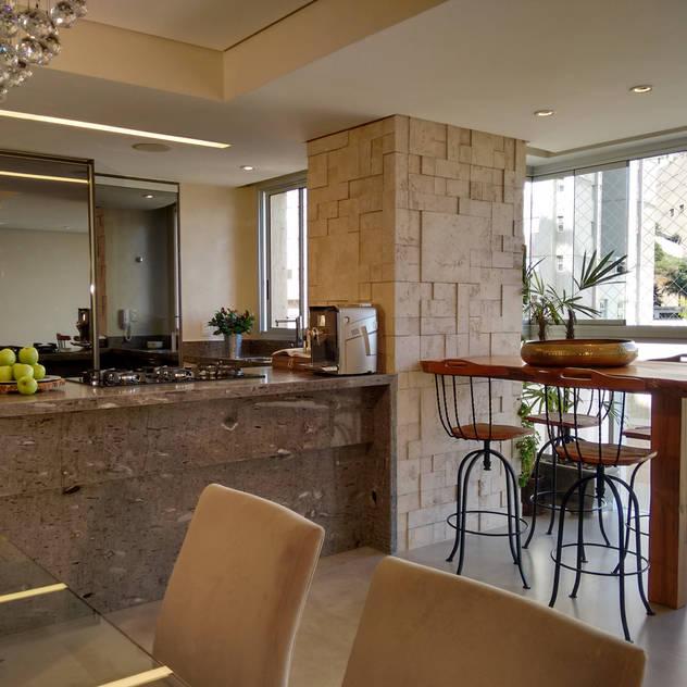Designare Ambientes: eklektik tarz tarz Yemek Odası