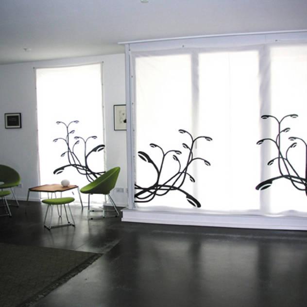 Salas de estar modernas por s.wert design