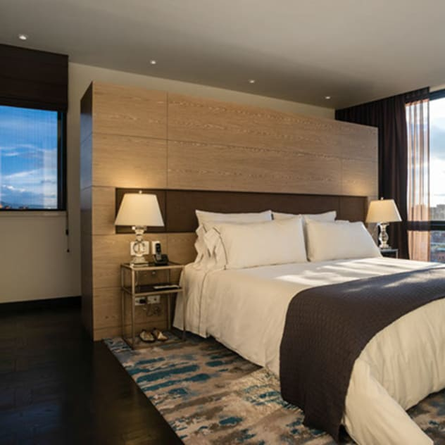 Phòng ngủ phong cách hiện đại bởi SAU Arquitectos Hiện đại