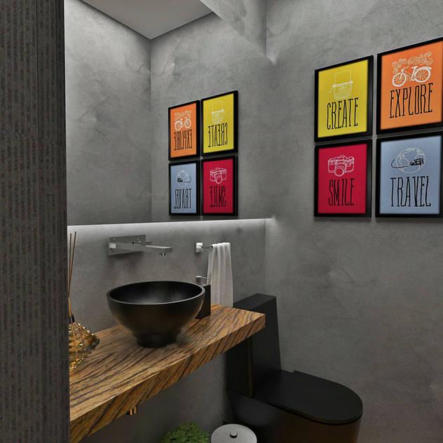 Bathroom by Atelier Par Deux