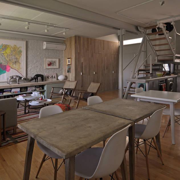 Dorrego Livings modernos: Ideas, imágenes y decoración de Matealbino arquitectura Moderno