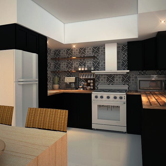 Cozinhas embutidas por Rotoarquitectura