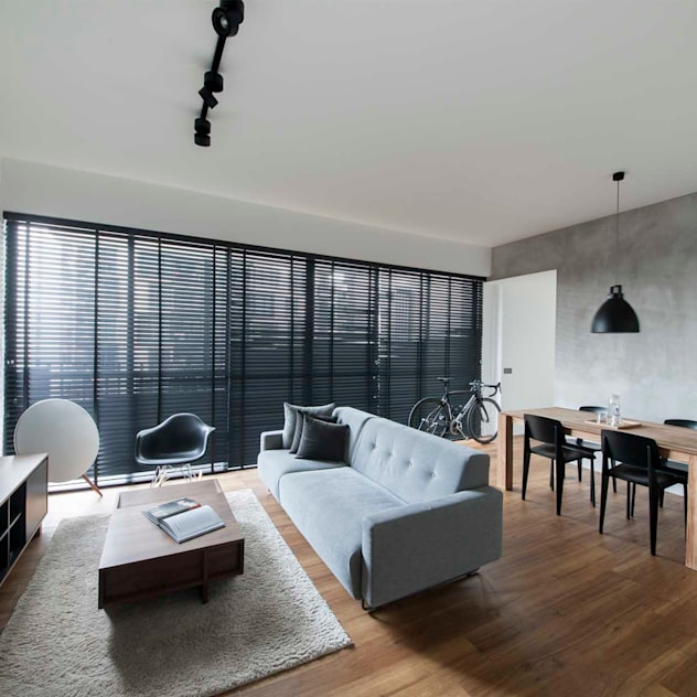 Phòng khách phong cách Bắc Âu bởi Eightytwo Pte Ltd Bắc Âu