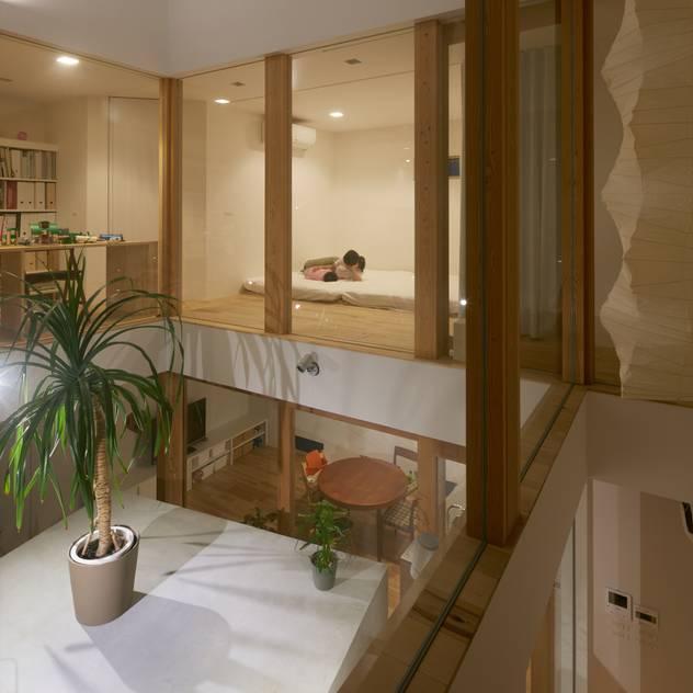 松原のガレージハウス: 藤原・室 建築設計事務所が手掛けた和室です。
