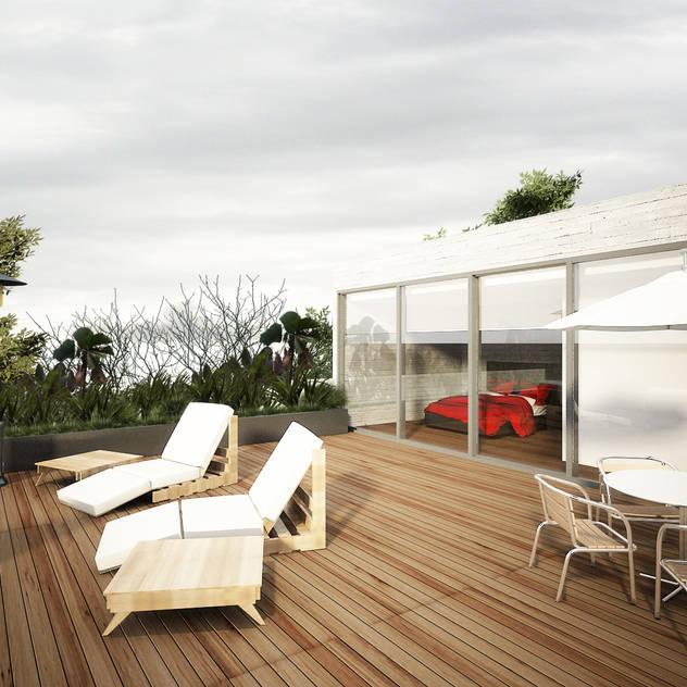 Gabriel Mancera: Terrazas de estilo por Studio Gabriel Askenazi