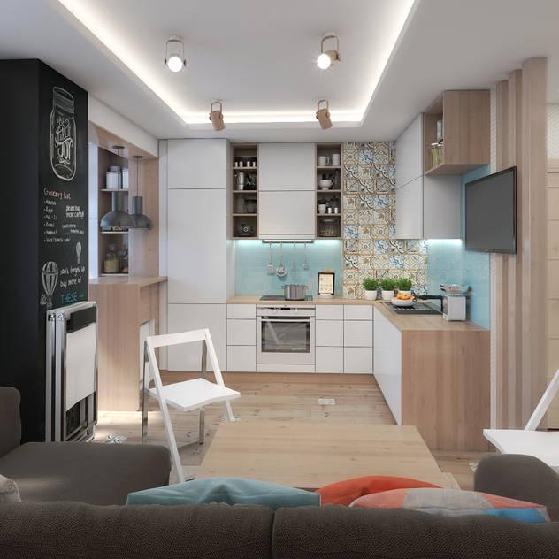 Cucina in stile scandinavo di Giovani Design Studio Scandinavo