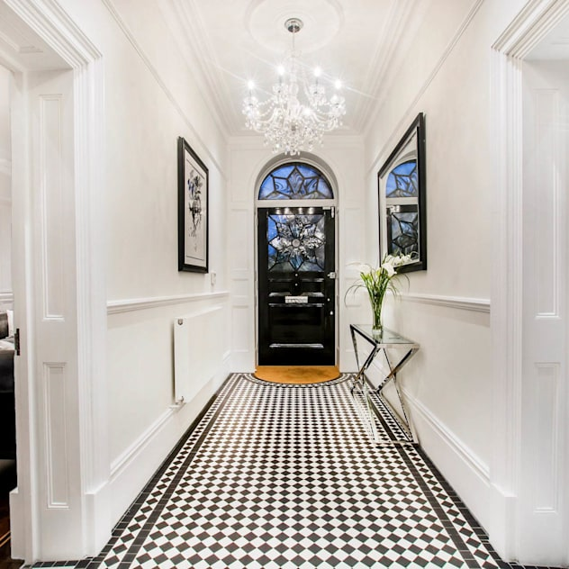 The Cooke's: modern Corridor, hallway & stairs by Vogue Kitchens