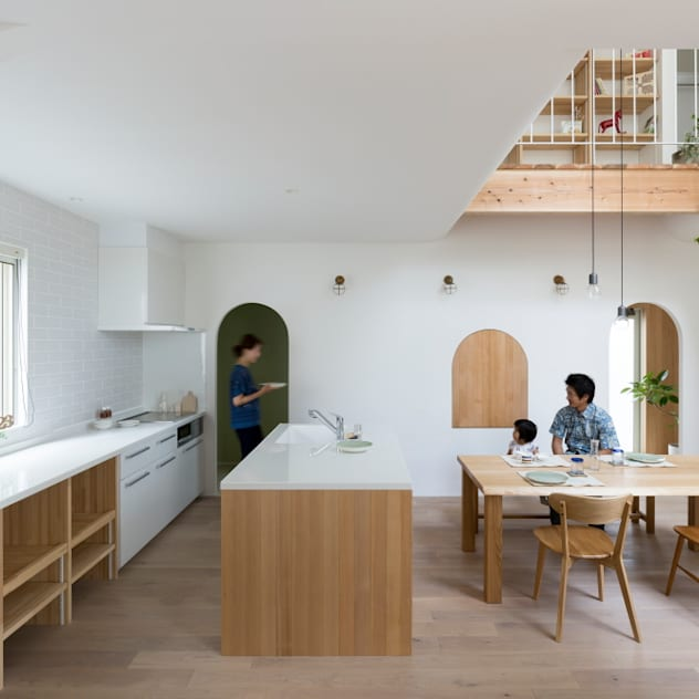 scandinavian Kitchen by ALTS DESIGN OFFICE